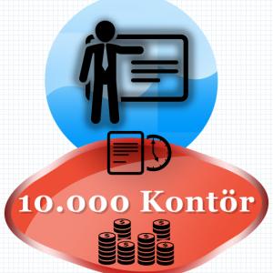 10000 Kontör