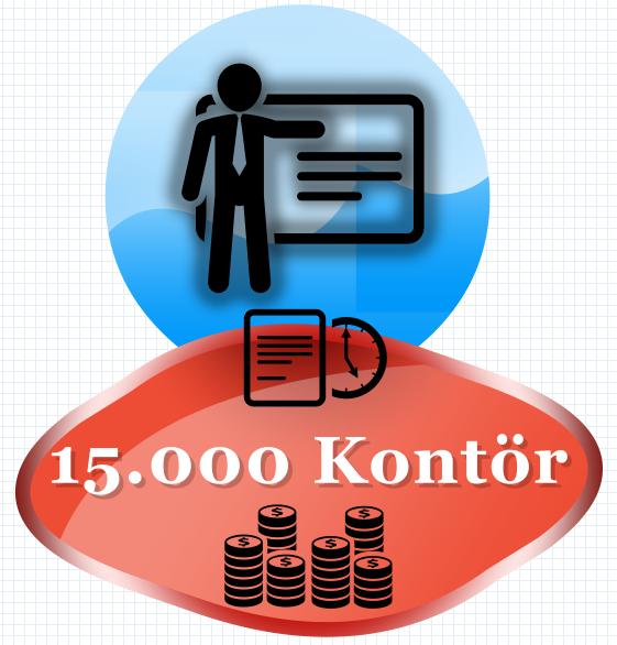 15000 Kontör