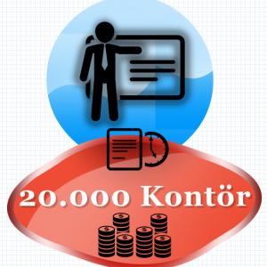 20000 Kontör